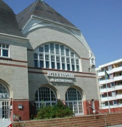 Veranstaltungsort: Alter Kursaal am Rathausplatz Westerland (Sylt)